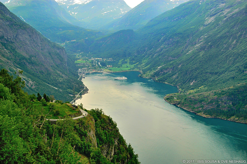 One of the world's most beautiful ferry trips: From Sylte to Geiranger inNorway
