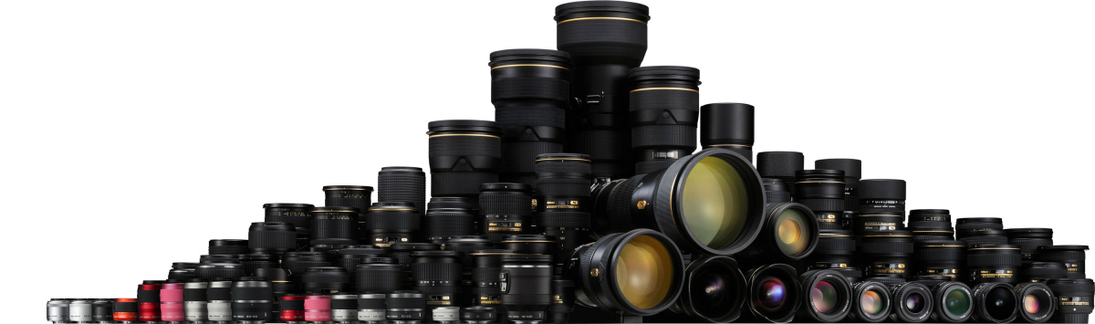 Recommended Nikon Nikkor and third party lenses for DX and FX (F-mount)