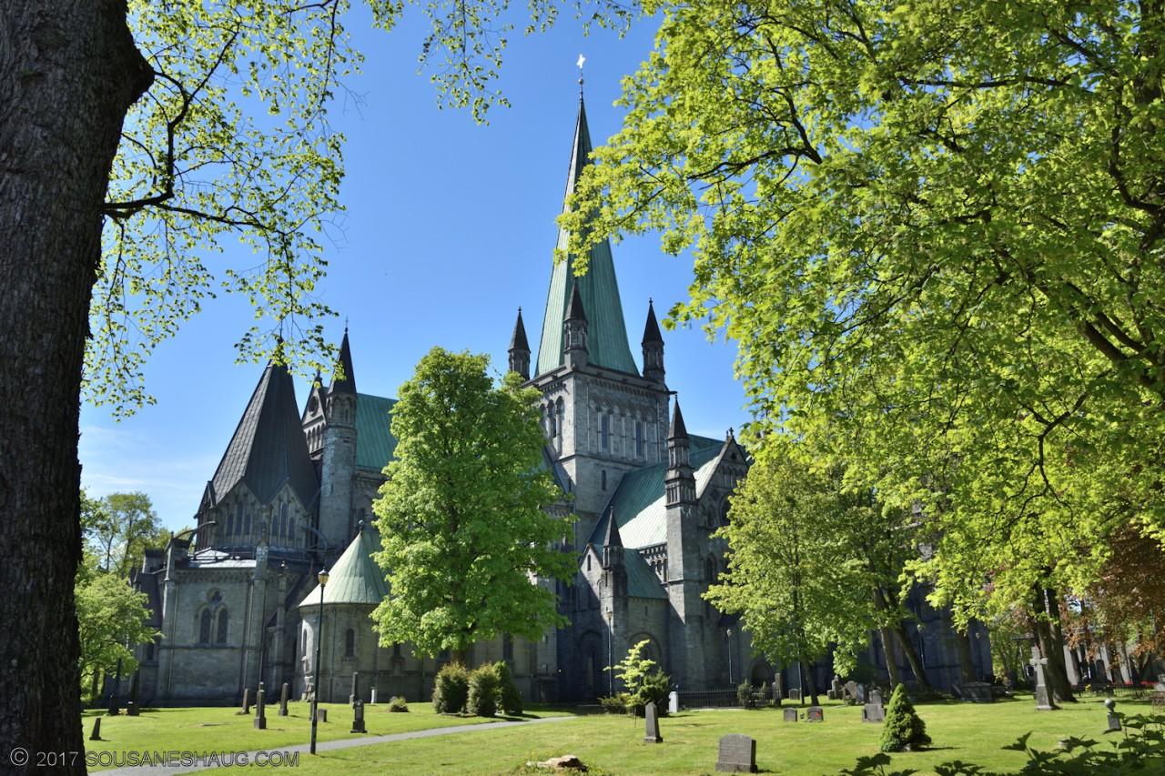 Nidaros Cathedral, details andGargoyles