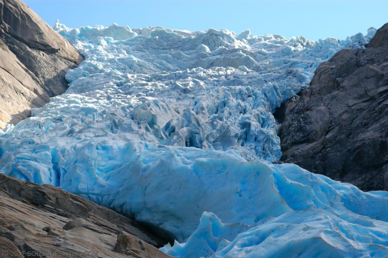 Briksdal glacier (Briksdalsbreen), Norway