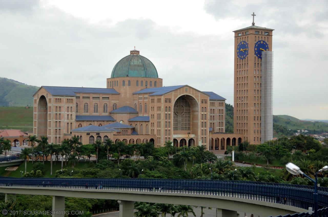 Basílica do Santuário Nacional de Nossa Senhora Aparecida (Basilica of the National Shrine of Our Lady of Aparecida),Brazil