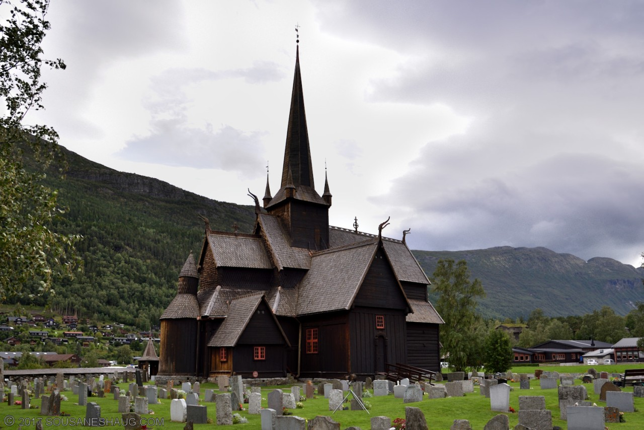 Lom Stavkirke (Stave Church), Norway