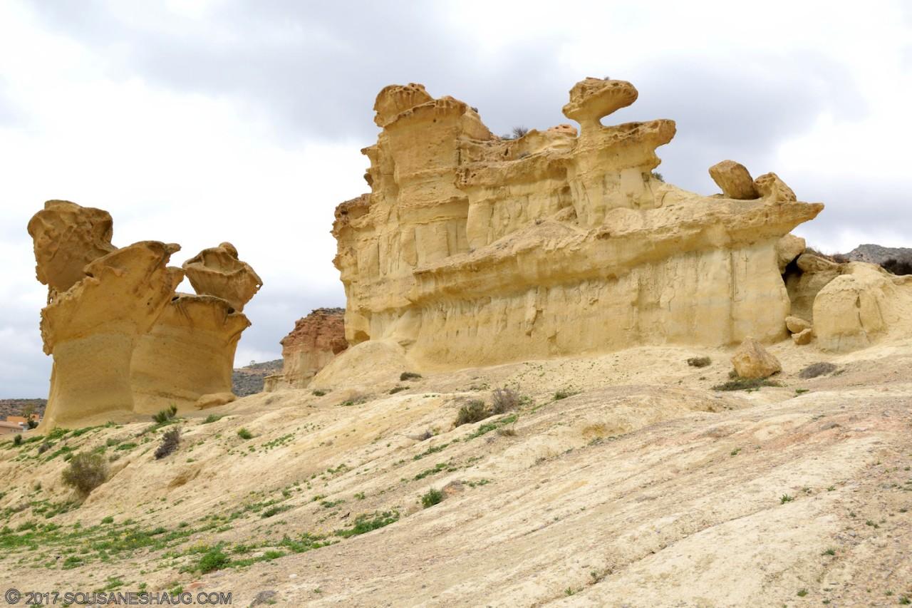 Erosiones de Bolnuevo, Bolnuevo –Spain