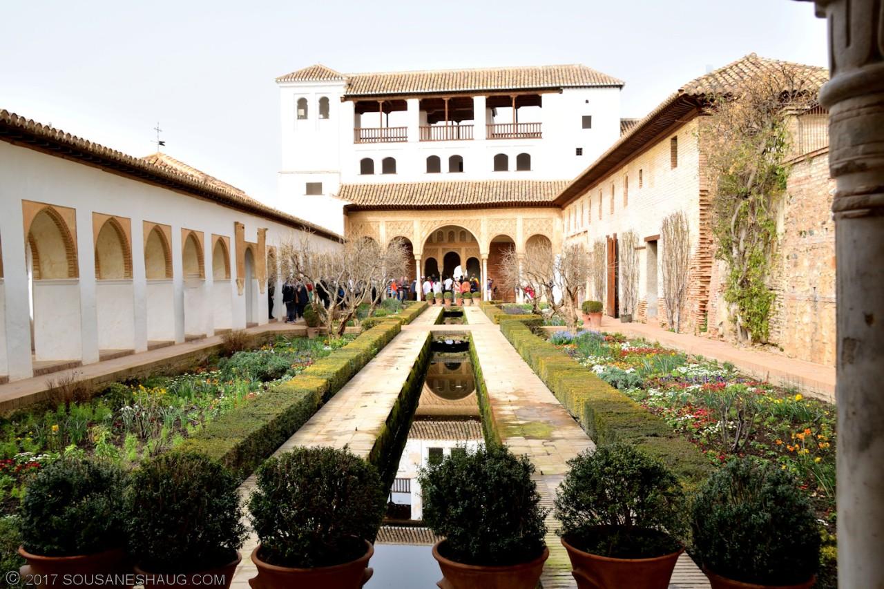 Generalife (Alhambra), Granada –Spain