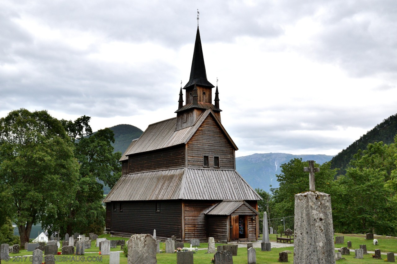 Kaupanger stavkirke (Stave Church), Norway