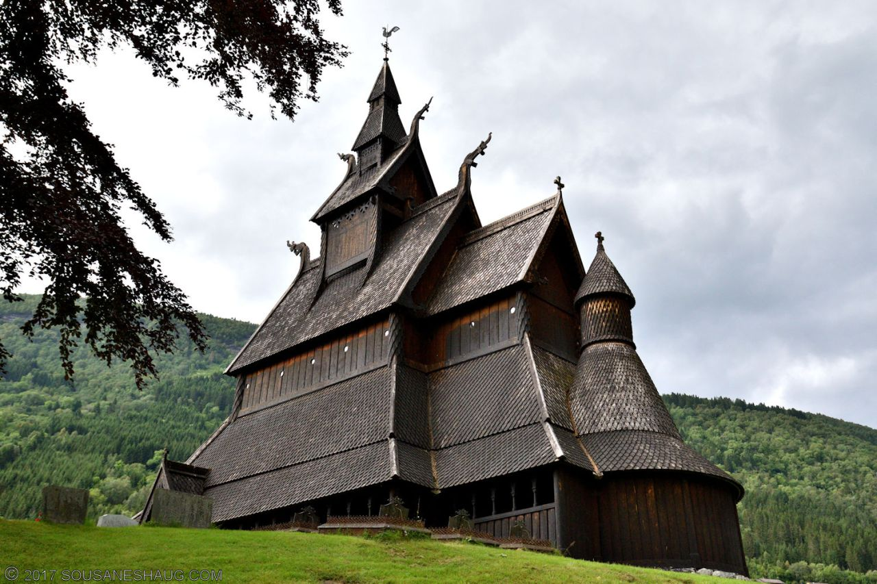 Hopperstad Stavkirke (Stave Church), Norway