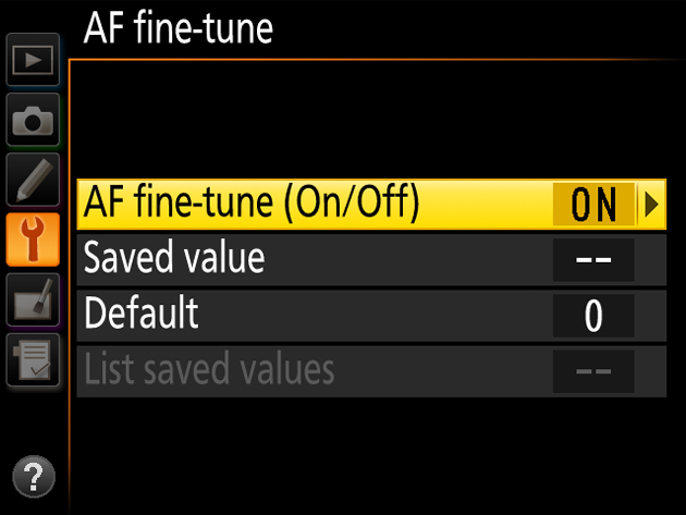 Why and how you should use AF fine tune in your Nikon DSLR
