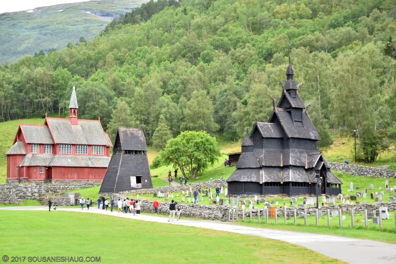 Borgund Stavkirke (Stave Church), Norway
