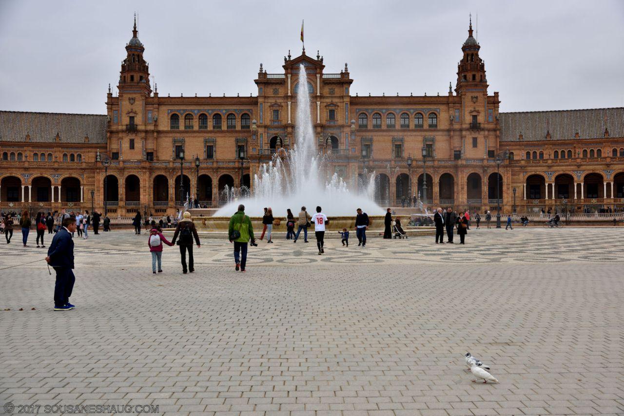 Plaza de España, Seville –Spain