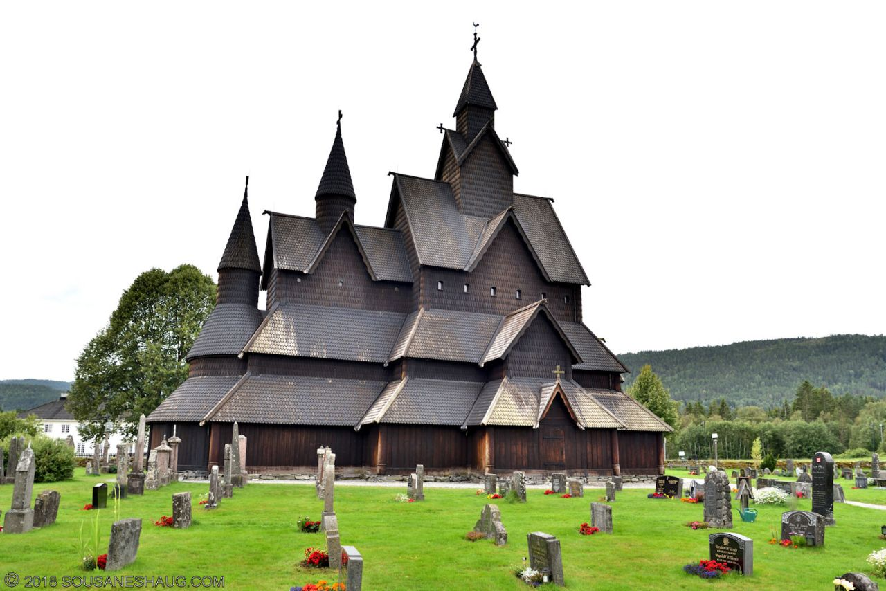 Heddal Stavkirke (Stave Church),Norway