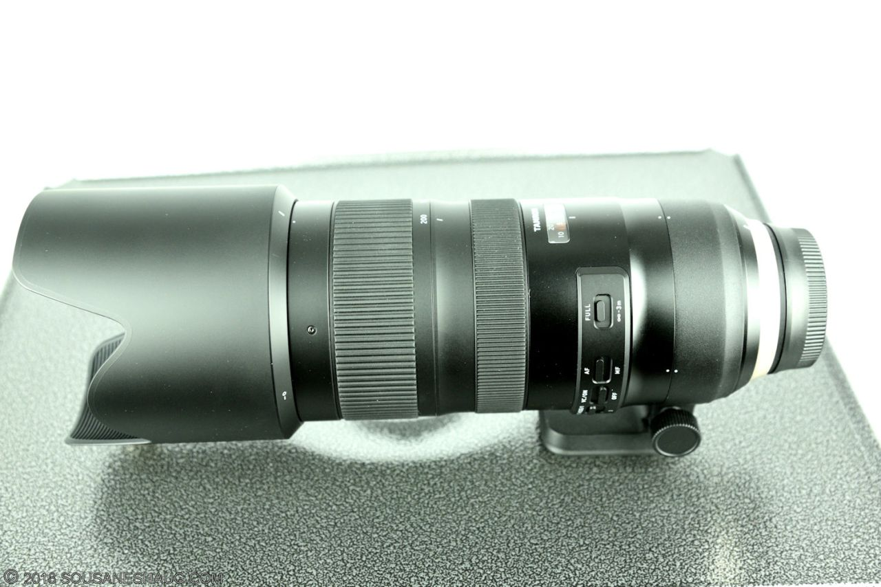 Tamron SP 70-200mm f/2.8 Di VC USD G2, calibrating with the Tap-InConsole