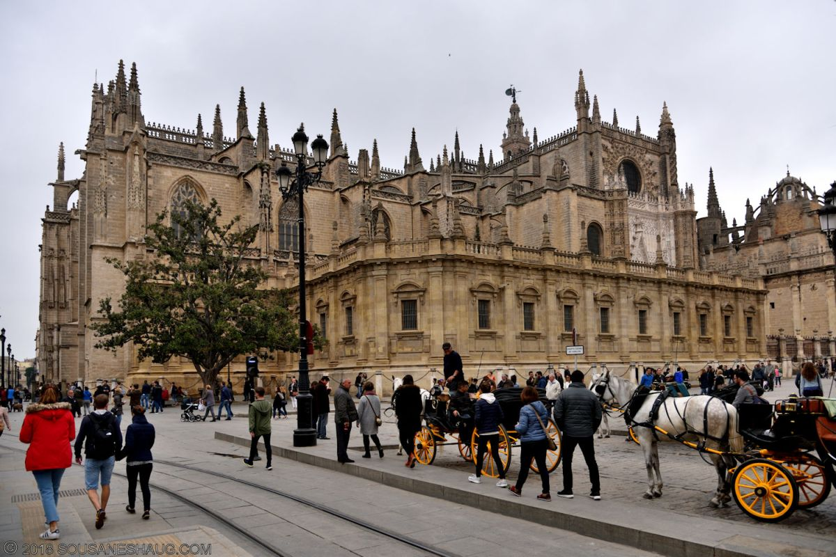 Seville Cathedral, Spain