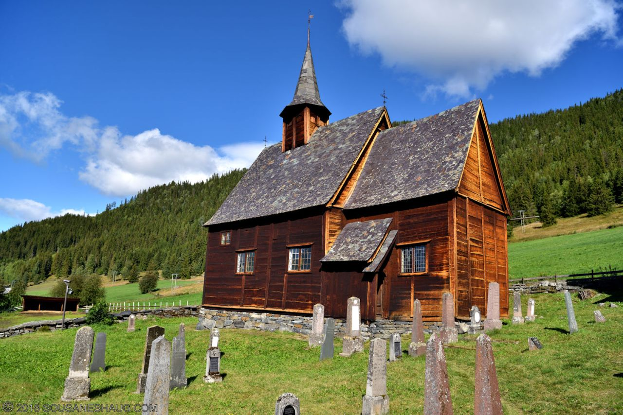Lomen Stavkirke (Stave Church), Norway