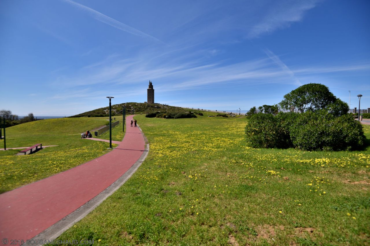 Tower of Hercules, Spain