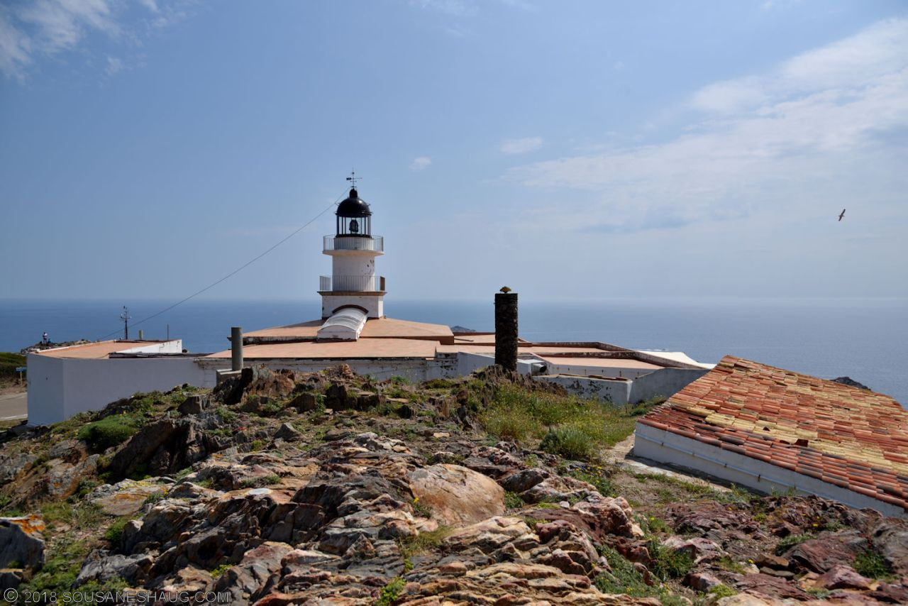 Lighthouse at Cabo de Creus, Spain