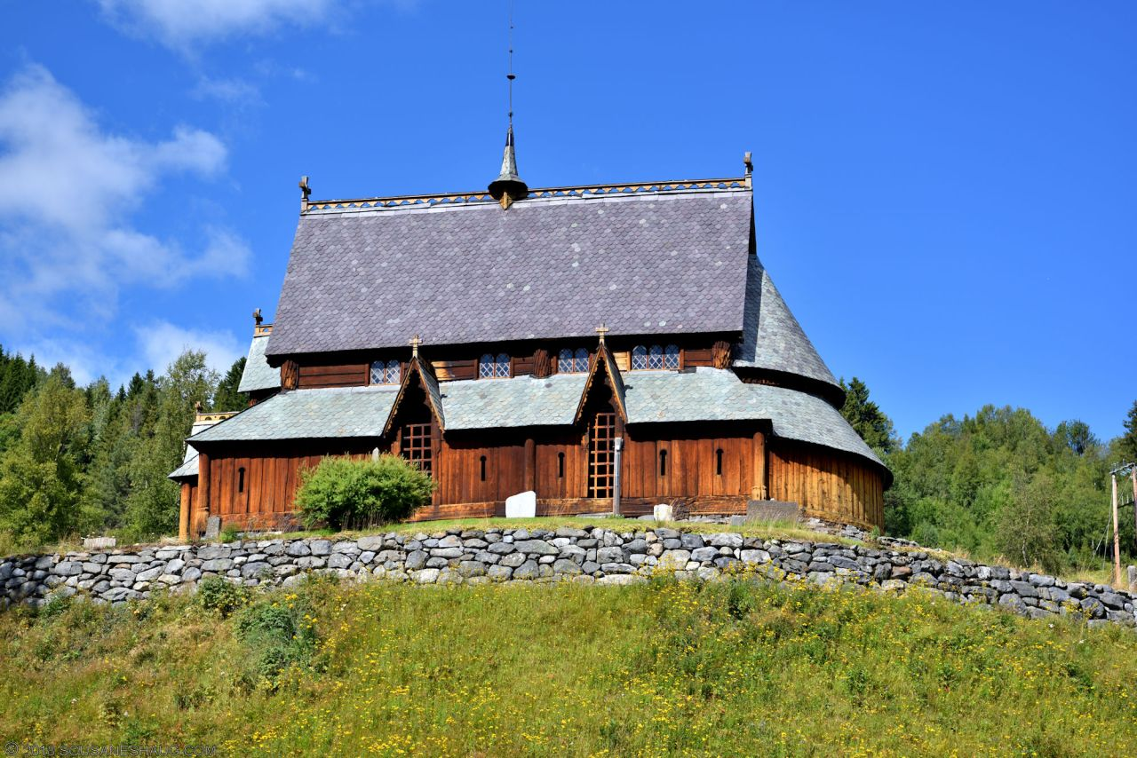Reinli Stavkirke (Stave Church), Norway