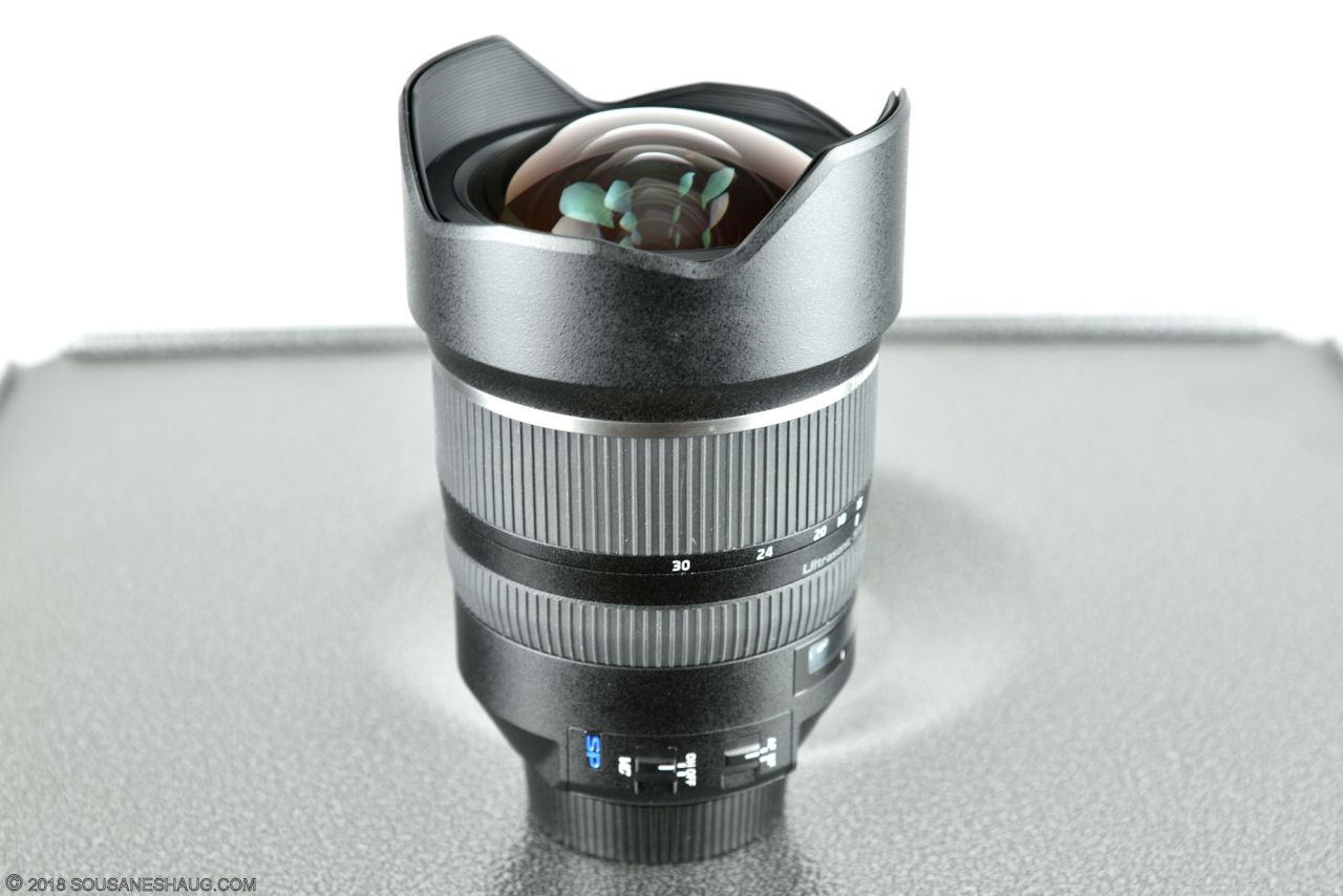 Tamron SP 15-30mm f/2.8 VC, checking focus with Reikan Focal 2