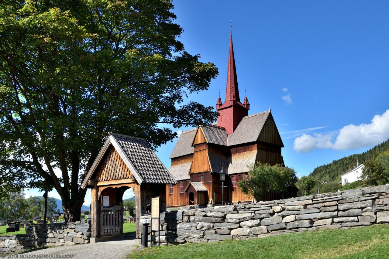 Ringebu Stavkirke (Stave Church), Norway