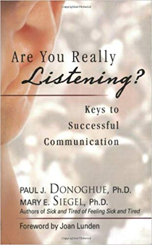 Book recommendation: Are You Really Listening? by Donoghue and Seigel